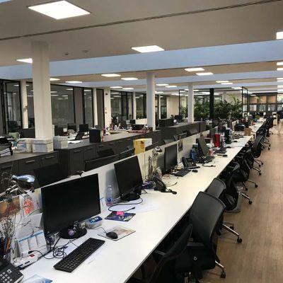 open space uffici zenith service spa | milano